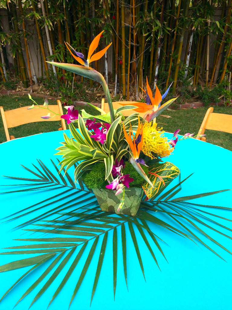 Thistle Dew Floral & Event Design » Tropical-Themed Party